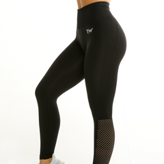 RapidWear - Seamless Agility Leggings (Sort)