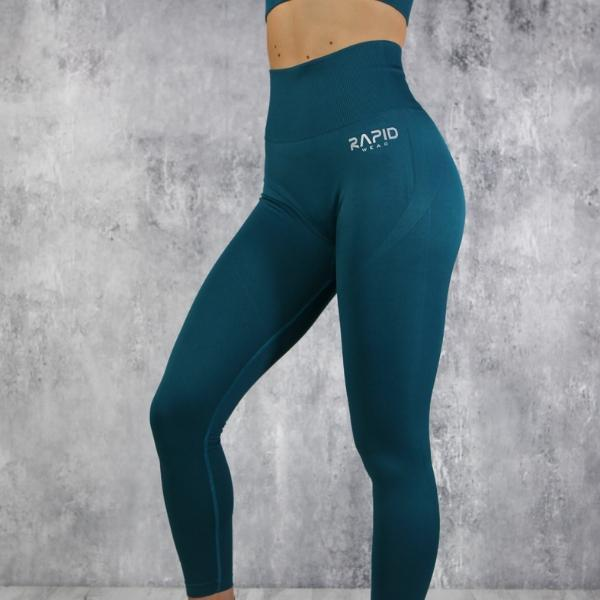 RapidWear - Seamless Comp Leggings (Pine)
