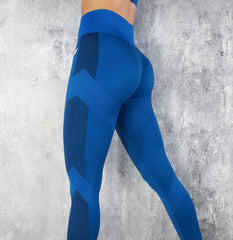 RapidWear - Seamless Force Leggings (Blue)