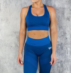 RapidWear - Seamless Force Sports Bra (Blue)