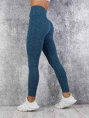 RapidWear - Seamless Mona Leggings (Navy blå)