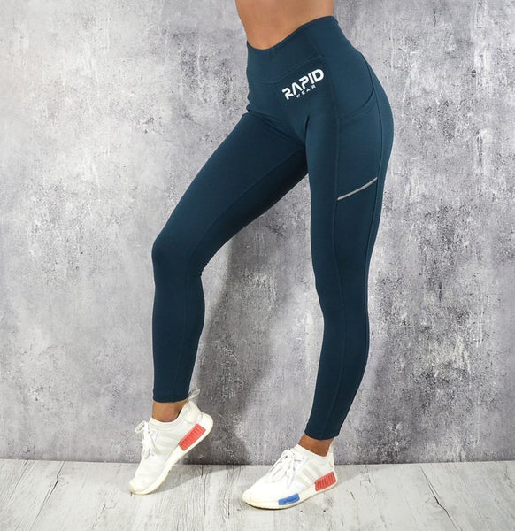 RapidWear - Ultimate Support Leggings (Blue)