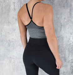 Rapid Wear Seamless Crop Charcoal