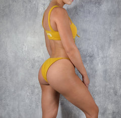 Rapid Wear Luxe Bikini Yellow Mustard