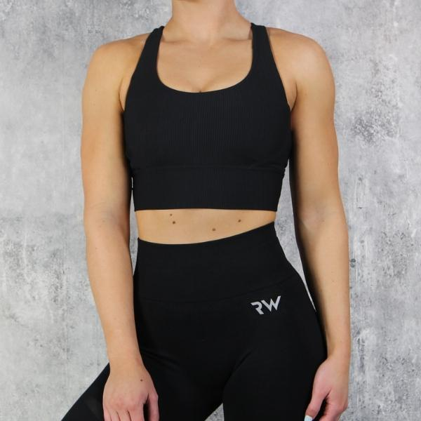 RapidWear - Agility Sports Bra (Black)