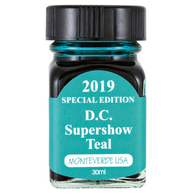 Monteverde USA Ink 2019 Special Edition DC Super show  Teal Green