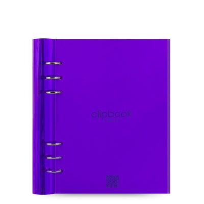 Gummy - Clipbook - A5 - Purple