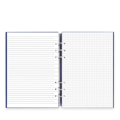 Filofax - Clipbook Classic A5 Notebook Navy Blue