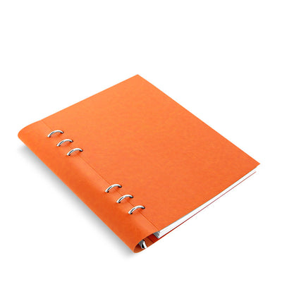 Classic Bright - Clipbook - A5 - Orange