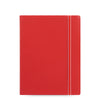 Classic Bright - Notebook - A5- Red