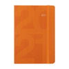 Letts of London Block A6 Week to View Diary 2021 Orange