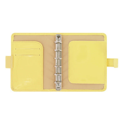 Filofax - Patent - Pocket- Lemon Yellow