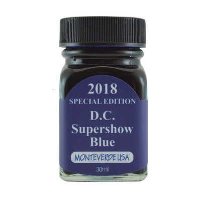 Monteverde USA Ink 2018 Special Edition DC Super Show Blue Blue