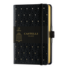 Castelli Milano Copper & Gold Pocket Notetebook - Diamonds Gold