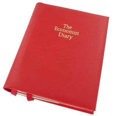 THE ECONOMIST DESK 2019 DIARY - DAY PER PAGE - RED