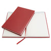 Livtek India 2020 - The flexi Diary - Booksize Undated - Ivory Cream Paper - Carnelian Burgundy