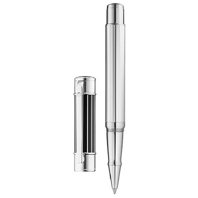 Waldmann Commander Multilayered Brilliant Black Lacquer Rollerball Pen