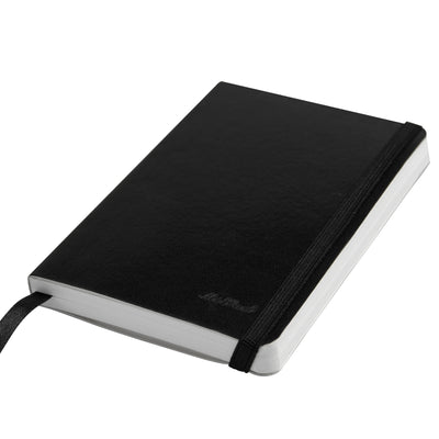 Livtek India MiPad - Pocket Size - Small Soft Cover Derby Balck Notebook