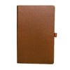 Livtek India MiPad -  Medium Hardcover Coffee Brown Notebook
