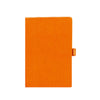 Livtek India MiPad- Pocket Size - Small Hard Cover Orange Notebook