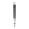 Waldmann Xetra Series Mutilayered Brilliant Black Lacquer -Fountain Pen with steel nib