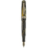 Stipula- Etruria Magnificia Collection- Black-Cream-Gold-Dust-Fountain Pen