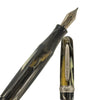 Stipula- Etruria Magnificia Collection- Black-Cream-Gold-Dust-Medium Nib Fountain Pen