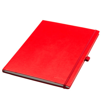 Livtek India MiPad -  A4 Hardcover Tomato Red