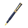 Stipula - Gladiator  Collection - Fountain Pen-Marbeled Blue