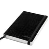 Livtek India MiPad - Pocket Size - Small Soft Cover Designer Black Notebook