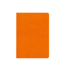 Livtek India MiPad - Pocket Size - Small Soft Cover Orange Notebook