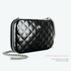 Ogon Quilted Lady Bag Clutch - Black
