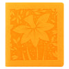 Letts Of London -Blossom Mini Square Two Days to a Page Diary 2021, Yellow