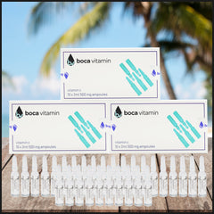 3 Boxes Vitamin C injectable shots.. Includes Syringes and Free Priority Shipping