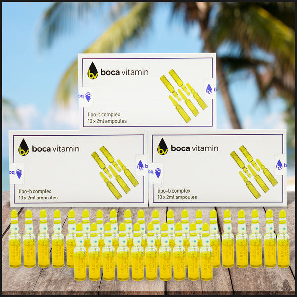 3 boxes Lipotropic B Complex Fat Burner injectable Full Kit & Free Shipping