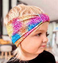 Load image into Gallery viewer, Rainbow Headwrap