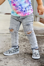 Load image into Gallery viewer, Gray Wash Jeggings PREORDER