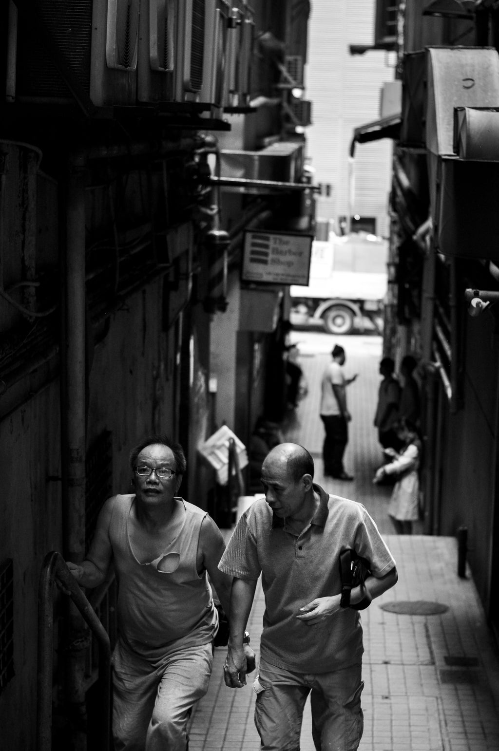 Alleyway In Hong Kong