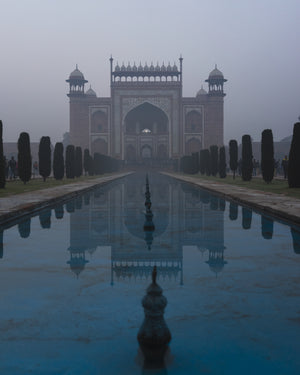 Perfect Symmetry At The Taj