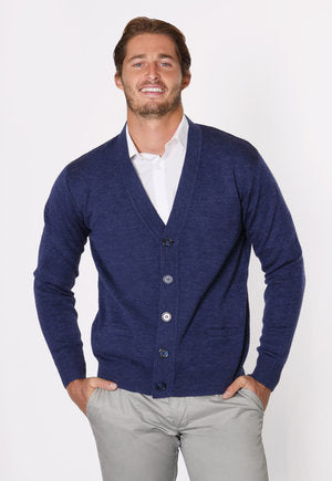 peter-webbers-menswear - CASUAL GUY BUTTON CARDIGAN - CLOTHING