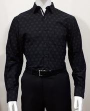 PERRONE LONG SLEEVED SHIRT BLACK