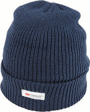 ACRYLIC RIB BEANIE W THINSULATE