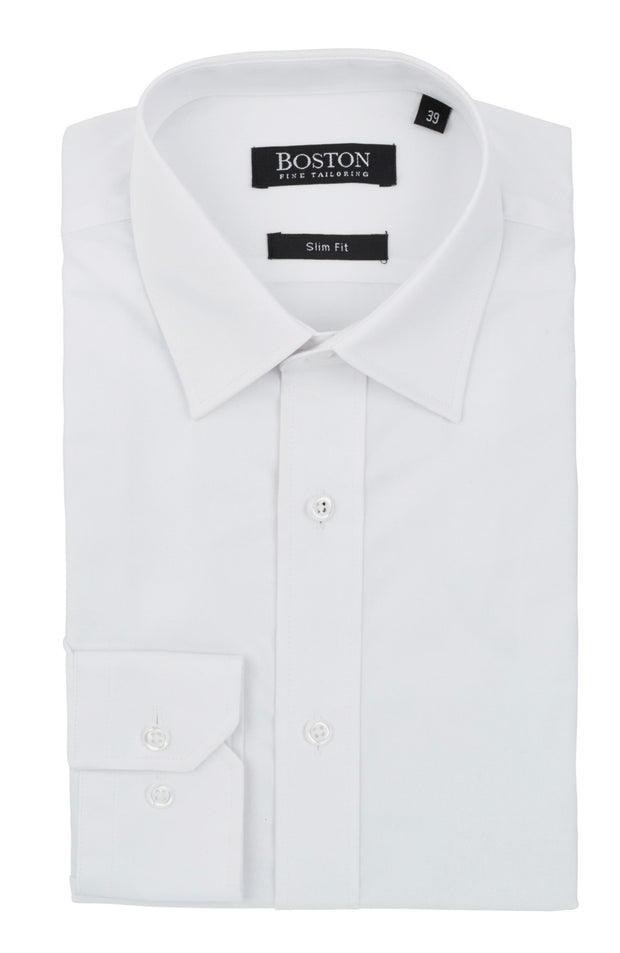 peter-webbers-menswear - BOSTON SLIM BUSINESS SHIRT - CLOTHING