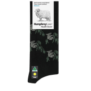 HUMPHREY LAW HEALTH FINE MERINO KOALA SOCKS