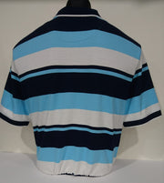 BRIDGEPORT POLO TOP 'AQUA'