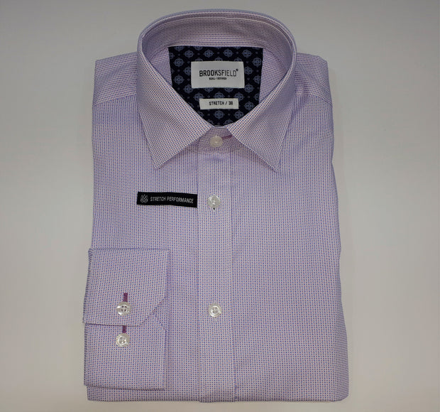 BROOKSFIELD CAREER DOT PRINT SHIRT