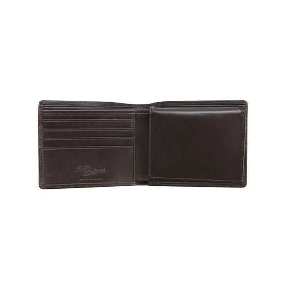 peter-webbers-menswear - R.M.W. YEARLING TRIFOLD WALLET - ACCESSORIES