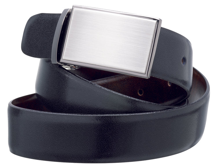 peter-webbers-menswear - MENS 'DURBAN' REVERSIBLE LEATHER  BELT 30MM - ACCESSORIES