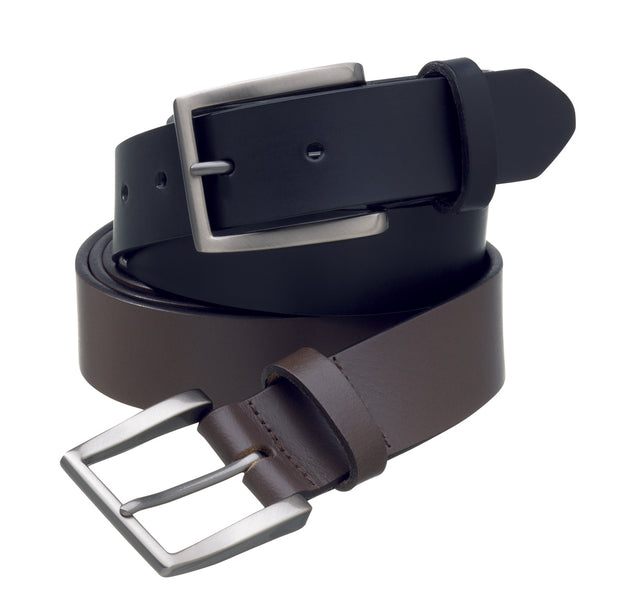 peter-webbers-menswear - MENS 'HALSTON' BUFFALO LEATHER BELT 35mm - ACCESSORIES