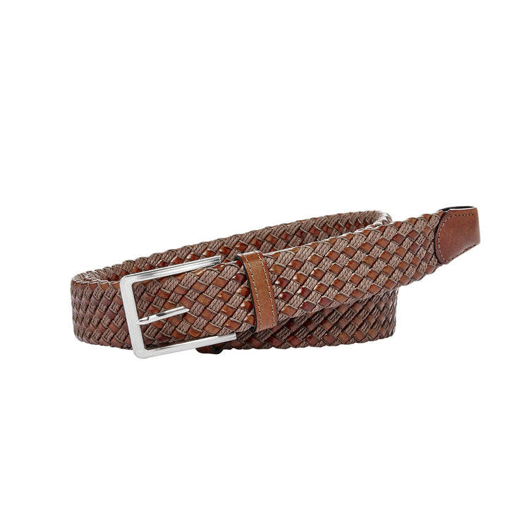 peter-webbers-menswear - MENS 'MIAMI' WOVEN BELT - ACCESSORIES